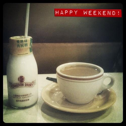 Kowloon Dairy Milk & Hot Char Chan Teng Coffee