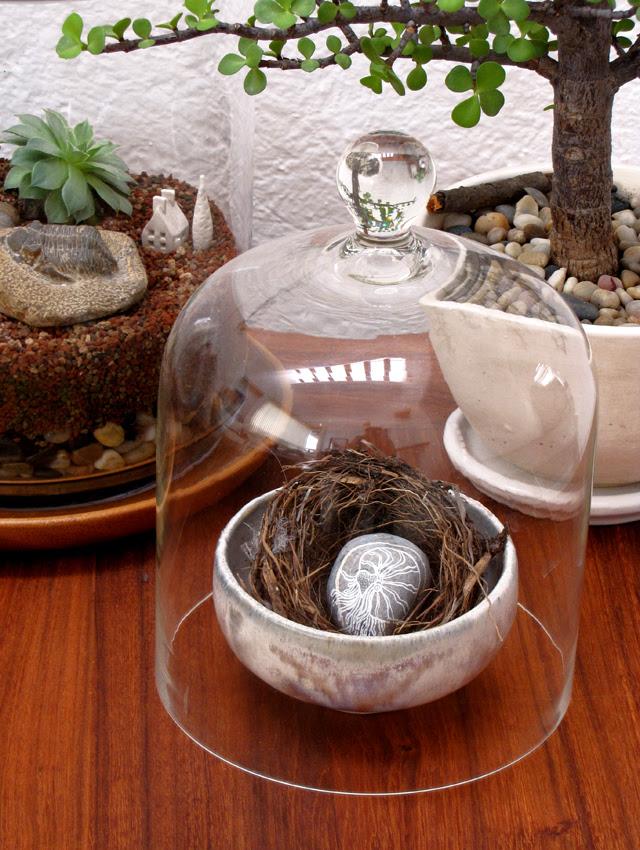 Found nest display