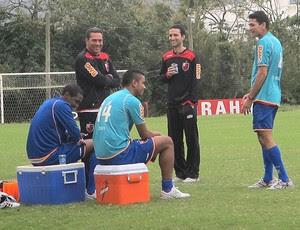 Luxemburgo treino Flamengo (Foto: Fabio Leme / Globoesporte.com)
