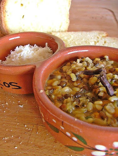 azuki soup with lemongrass