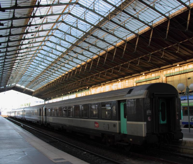 SNCF train in Paris
