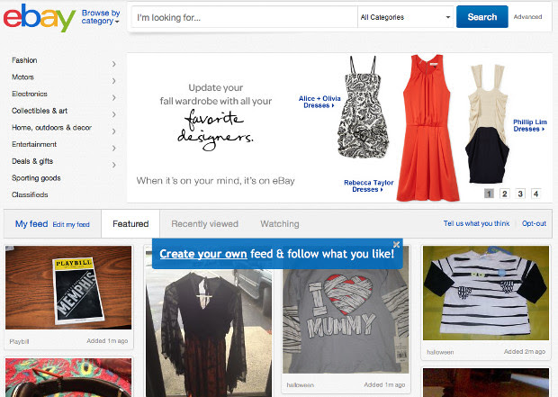eBay unveils redesign, deals site and launches sameday delivery