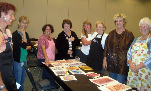 Long Beach Quilt festival students