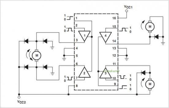 circuit for h bridge