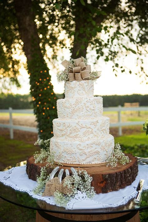 1000  ideas about Lace Wedding Cakes on Pinterest