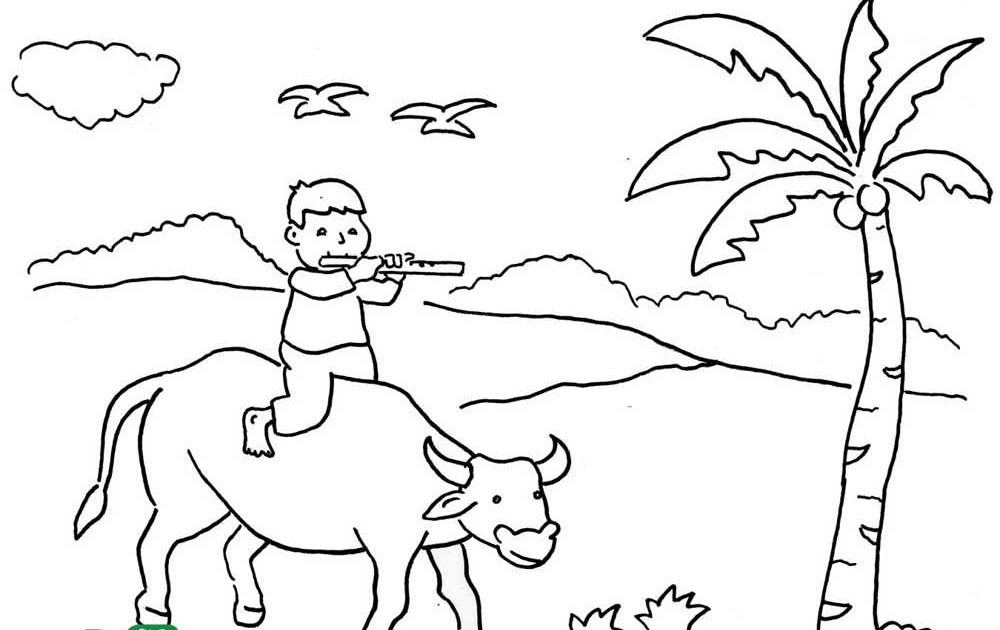 Contoh Gambar  Kartun Yang  Mudah  Di  Buat Contoh Waouw