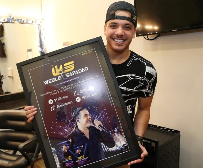Wesley Safadão vendeu 100 mil cópias (Foto: Carol Caminha/Gshow)