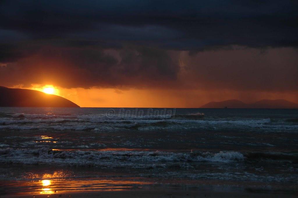 Sunset!After the storm.Vlorë-Albania