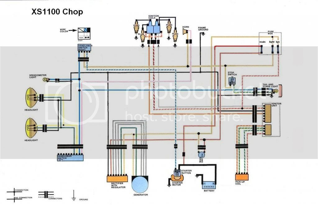 Yamaha Xs1100 Ignition Switch Wiring Diagram - Wiring ...