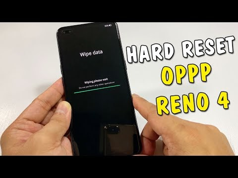 Hướng dẫn Hard Reset Oppo Reno 4