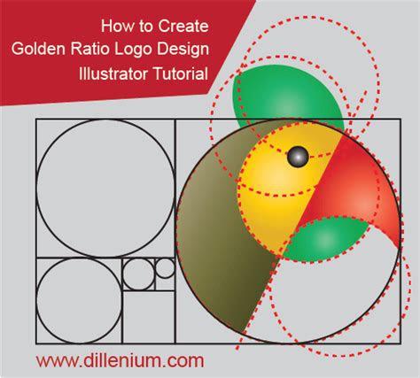 create golden ratio logo design  illustrator