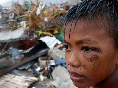 Imagen tras el tifón de Filipinas