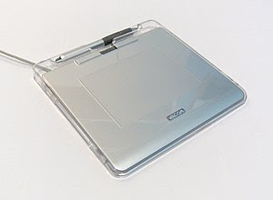 A Wacom Graphire4 USB pen tablet. Taken by me.