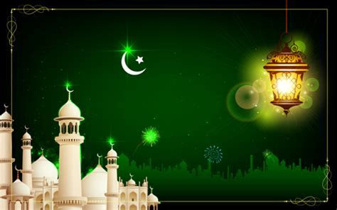 Mosque night backgrounds vector 03   Free download