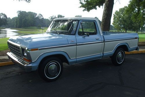 Purchase Used Survivor 79 Ford F100 Original Paint Short Bed
