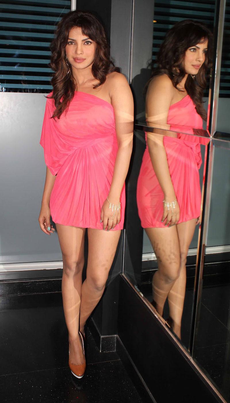 priyanka-chopra-pink-see-through-mini-dress-9