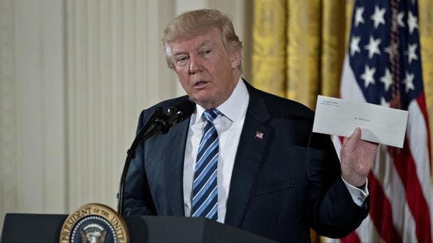 Trump cumplió una promesa de campaña