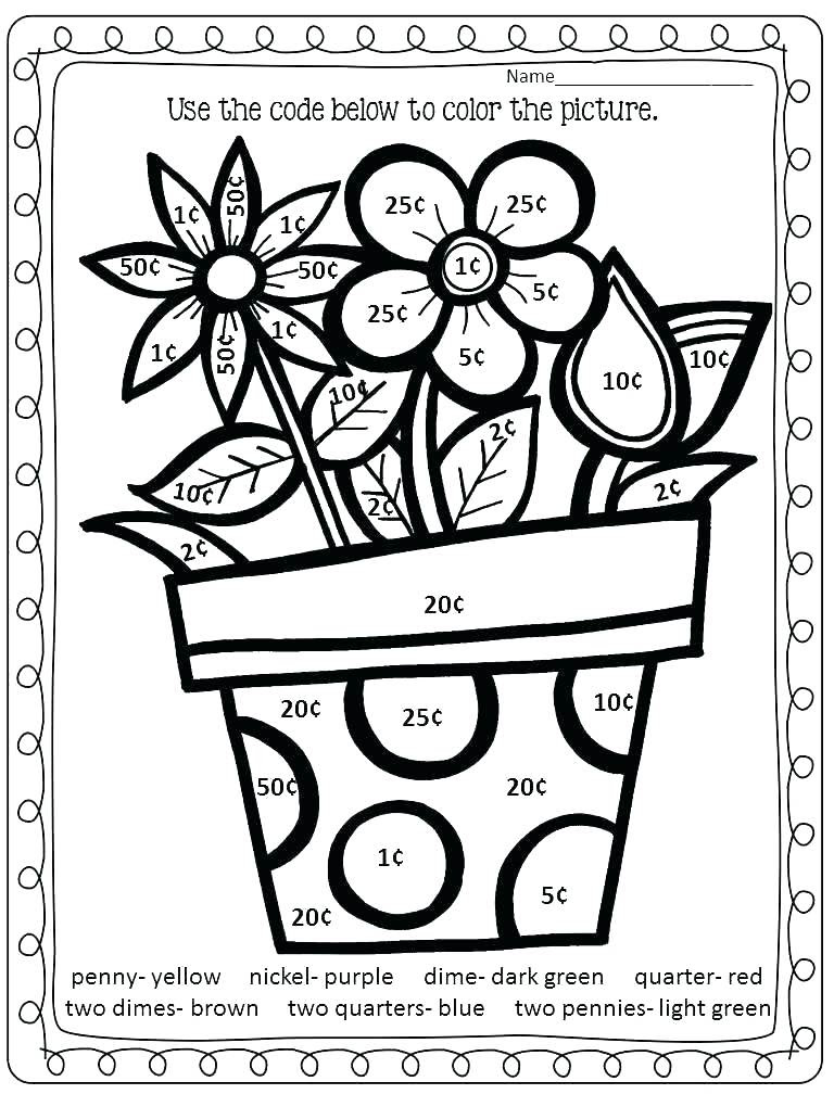 Second Grade Coloring Pages at GetColorings.com | Free ...