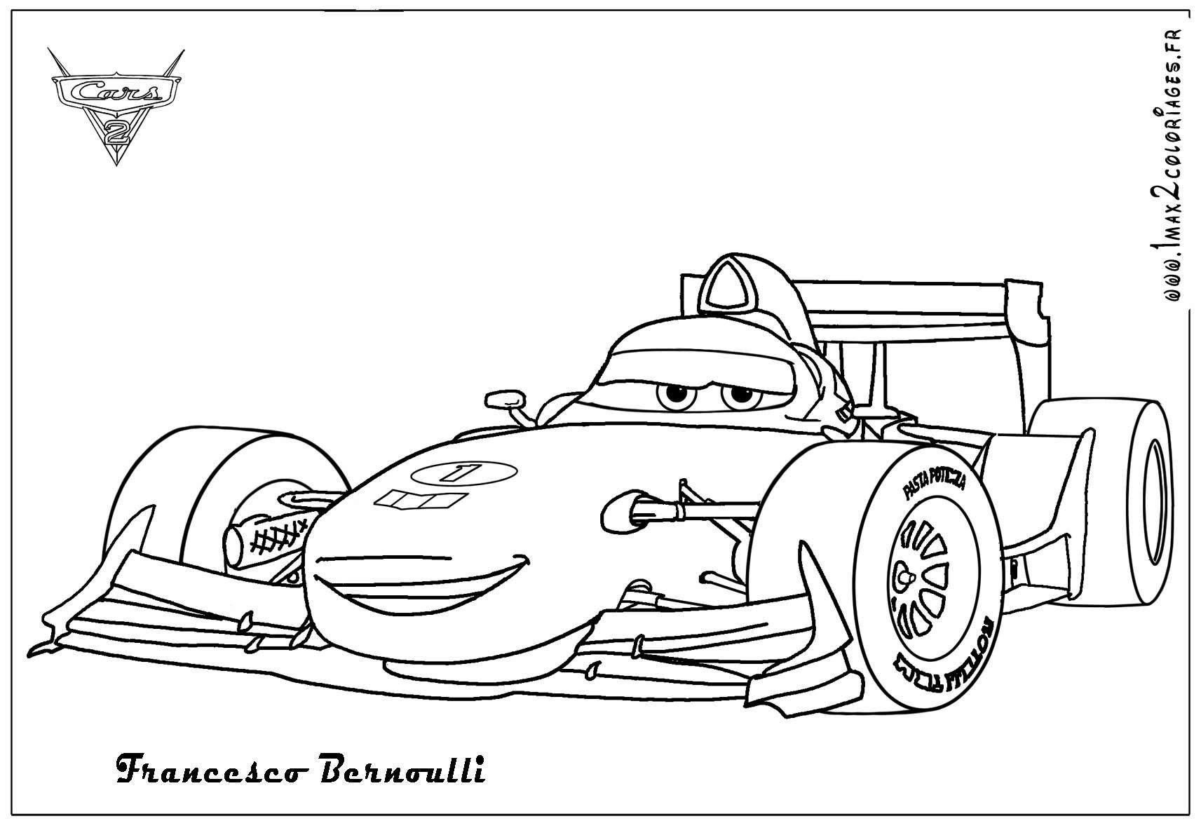 Cars Ausmalbilder Francesco
