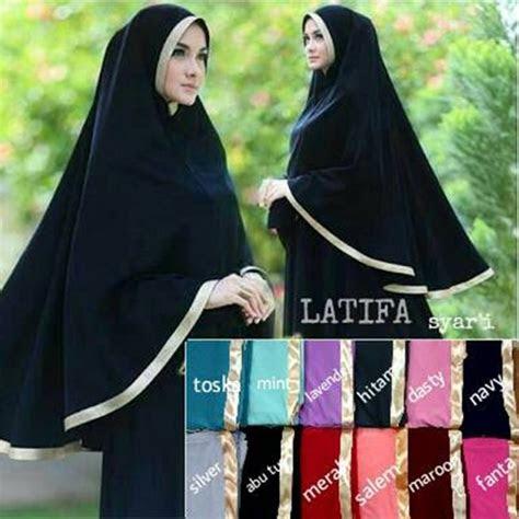 hijab syari khimar latifa model    terbaru