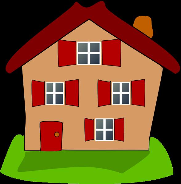 House Clip Art at Clker.com - vector clip art online ...