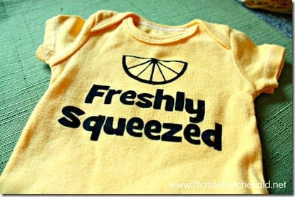 Freshly Squeezed Newborn Onesie