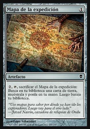 Mapa de la expedición
