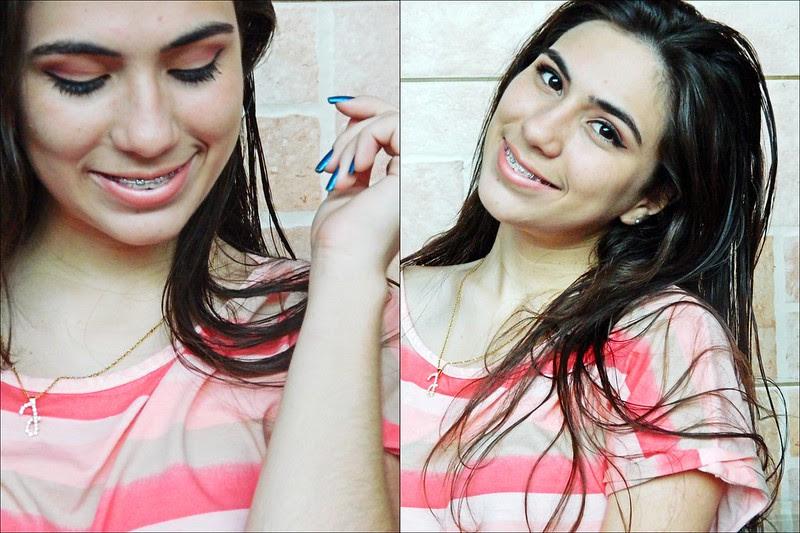 juliana leite maquiagem make up delineado gatinho pin up rosado concavo rosa esfumado blusa crop top love