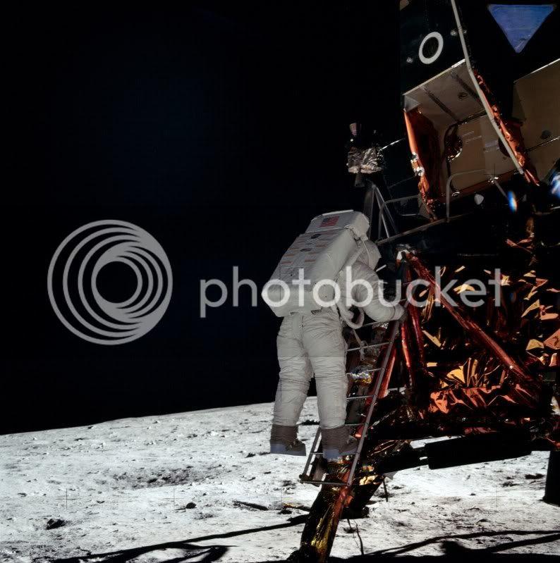 Apollo 11 - Pie en Luna