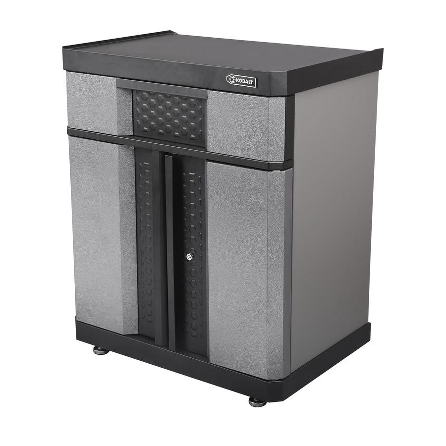 Shop Kobalt 36.5-in H x 30-in W x 20.5-in D Metal Garage ...