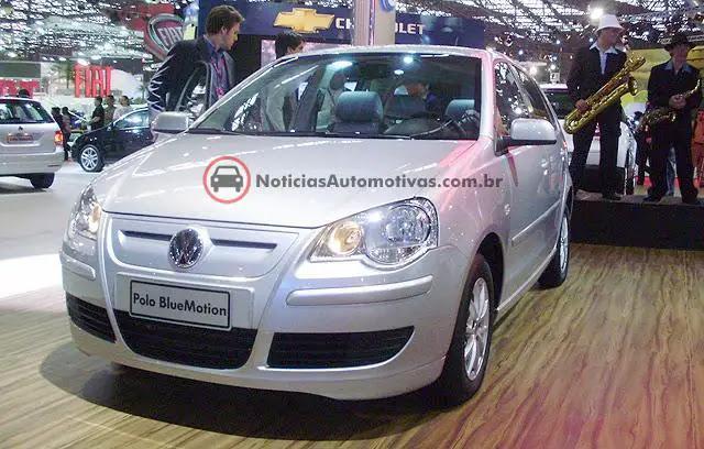 volkswagen-polo-bluemotion-brasil-2009 Gol, Fox e Polo BlueMotion serão lançados em 2009, com redução no consumo