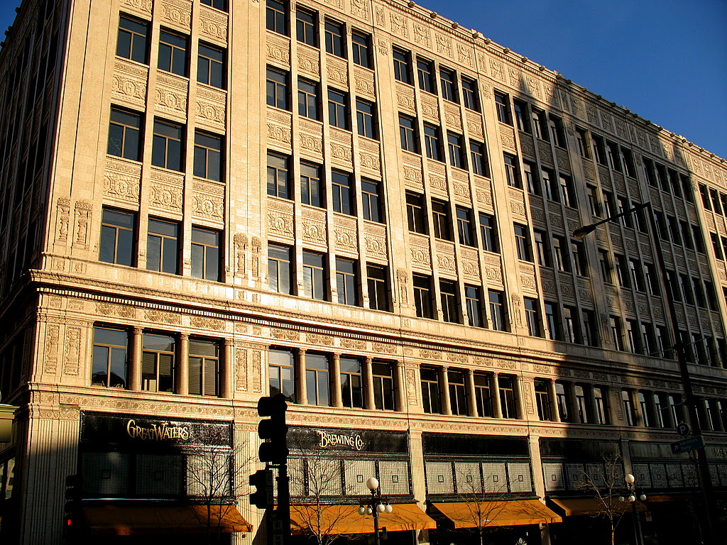 The Hamm Building in downtown St Paul