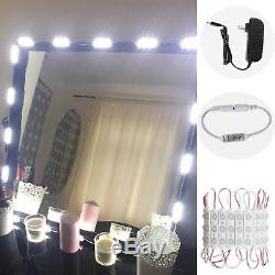 Vanity 60 Led Mirror Light Kit Makeup Hollywood Mirror Touch Dimmer