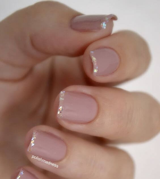 Pale Pink Light Pink Dip Nails - Nail and Manicure Trends