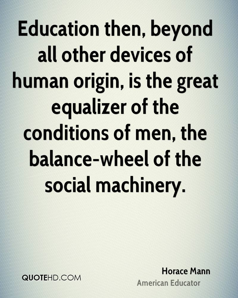 Horace Mann Education Quotes Quotehd
