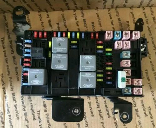 Fuse Box On A 05 Ford 550