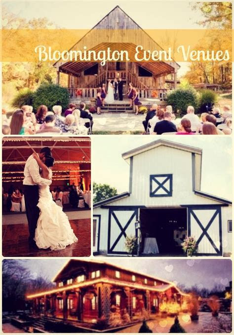 50 best Bloomington Wedding & Event Venues images on