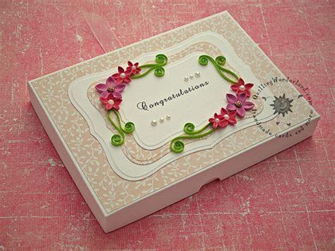 Floral Wedding Congratulations Card