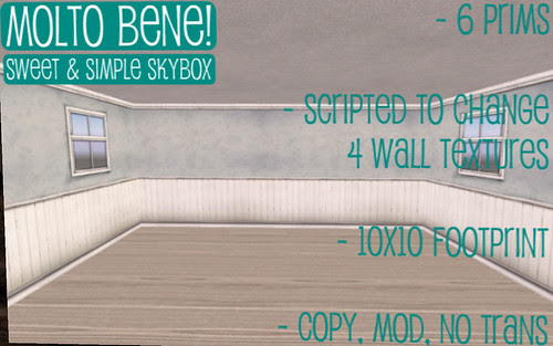 50L Friday Molto Bene simple skybox