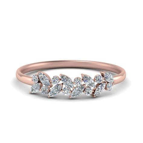 Rose Gold Wedding Rings Women   Fascinating Diamonds