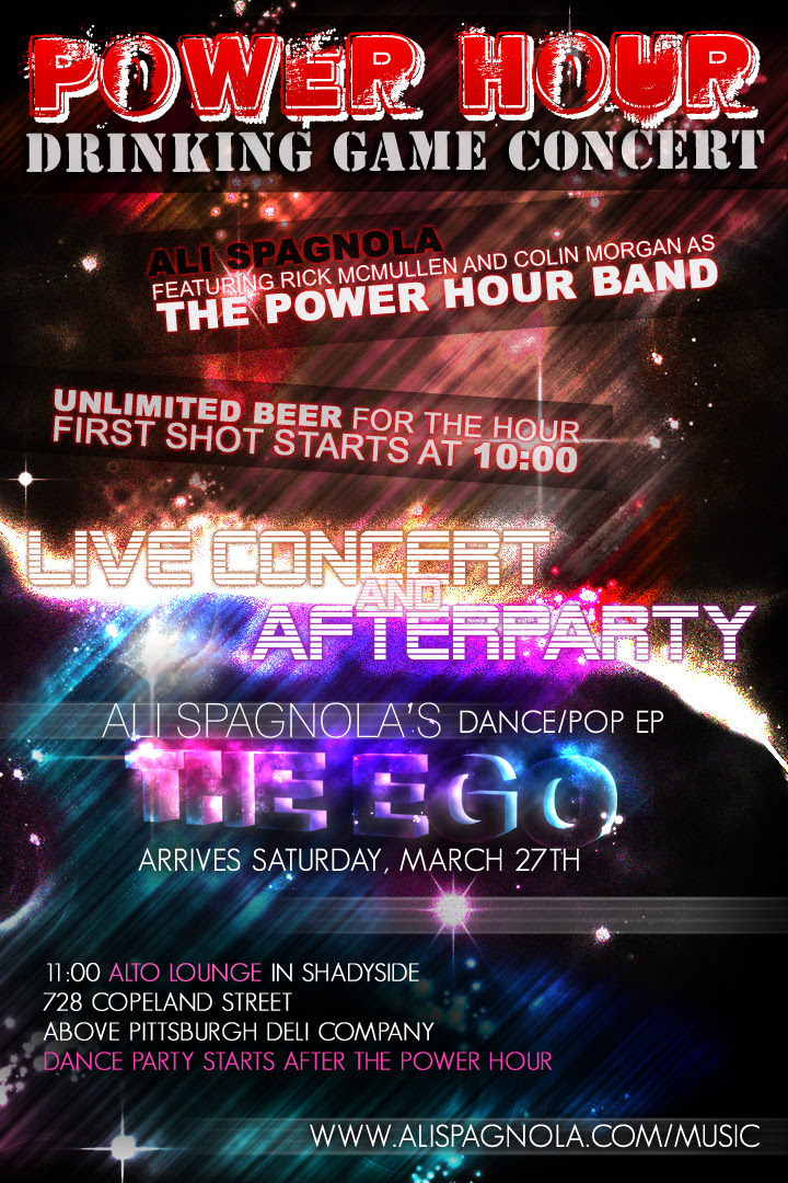Power Hour Concert and The Ego CD Release Party