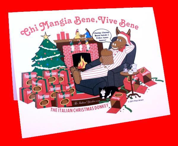 Christmas cards italian language xmast 4 the italian yankee m4hsunfo