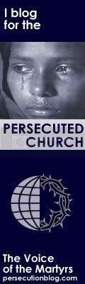 I Blog for the persecuted church