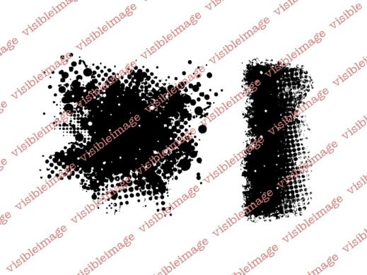 Visible Image Edgy background stamps