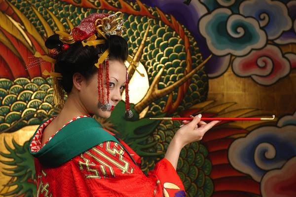 Still from the film Sakuran