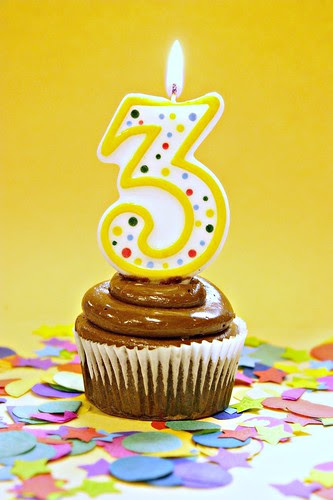 Happy 3rd Birthday to my little blog!