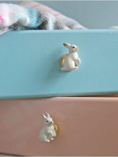 Ceramic Rabbit Knobs