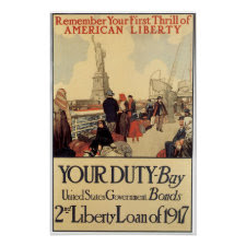 WWI Your Duty Print print