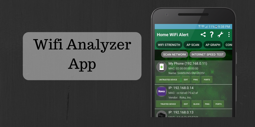 Map Your Network In A Graphical Display With Wifiyzer App