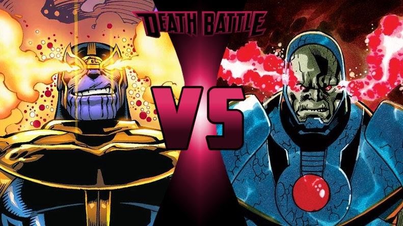 Thanos Darkseid Death Battle - Thanos m